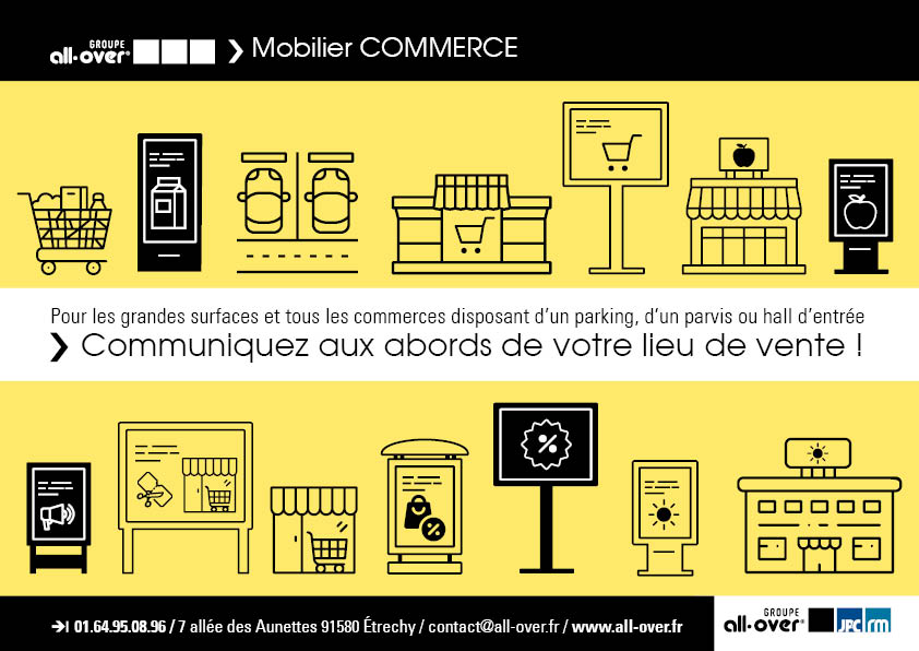 brochure mobilier COMMERCE groupe all-over